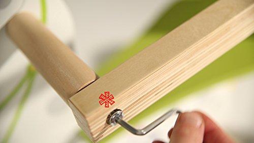 roba Schaukelpferd 'kleiner Racker', Schaukeltier mit Soundeffekt aus Holz mit Bedruckung, Schaukelsitz mit abnehmbarem Schutzring, Schaukelspielzeug ab 12 Monate - 8