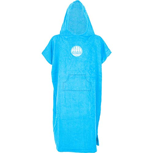 Alder Junior Terry Cotton Poncho Changing Robe 2021 - Blue