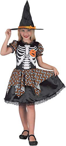 Costume bambina Strega Skully, 8-10 anni