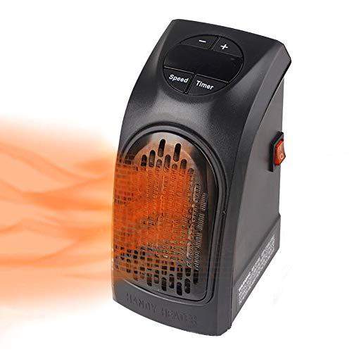 MZBZYU Portátil Heater 300W Mini Estufa Eléctrico Calefactor con Digital Termostato Ajustable Cerámicos Calefacción De Pared para Oficina/Casa/Garaje/Camper