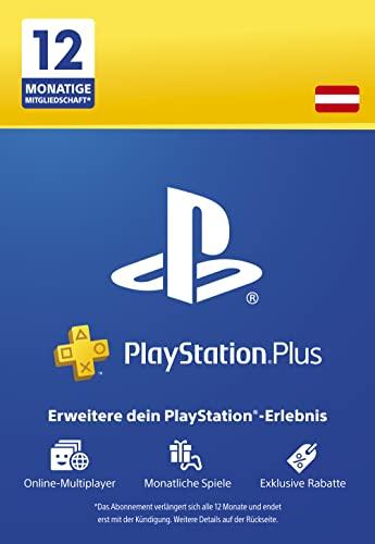 PlayStation Plus Mitgliedschaft   12 Monate   österreichisches Konto   PS5/PS4 Download Code