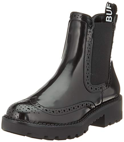 Buffalo Damen FINI Stiefeletten, Schwarz (Black 001), 38 EU