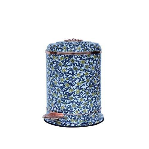 DGHJK Papelera Multifuncional para Papelera con Pedal y contenedor de café Papelera Multicolor, práctica y práctica (Color: B, tamaño: 10L)