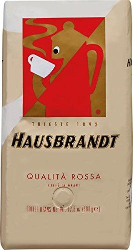 Hausbrandt Espresso Kaffee - Qualita Rossa 1000g Bohne