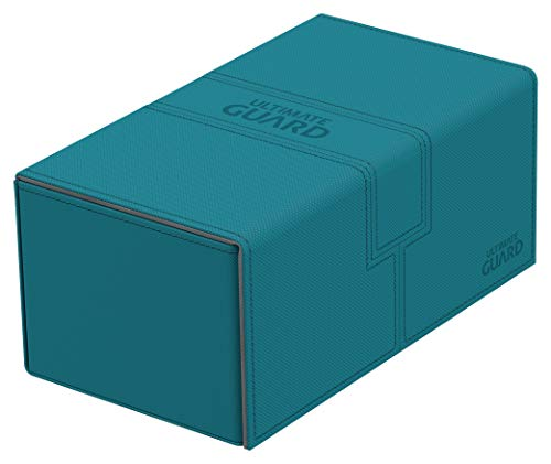 Ultimate Guard Twin Flip´n´Tray Deck Case 200+ Caja de Cartas Tamaño Estándar XenoSkin Gasolina Azul