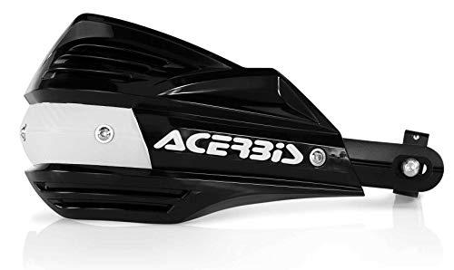 Acerbis 23741-90001 Handprotektoren, schwarz, One Size