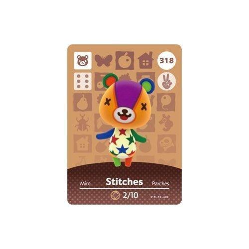 Stitches- Nintendo Animal Crossing Happy Home Designer Series 4 Amiibo Card -318