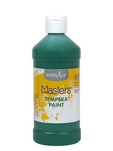 Handy Art Little Masters Tempera Paint 16 ounce, Green