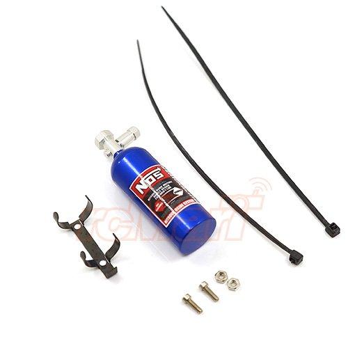 Yeah Racing Aluminum Nos Nitrous Oxide Balance Weight Bottle 23g For 1/10 RC Blue #YA-0429BU