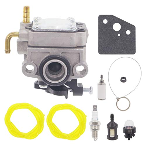 Ertsdfw 753-08057 Carburetor - AC04122 Fuel Line Kit for Troy-Bilt TB625EC TB675EC AC8 MTD 316.731700 316.731701 316.731970 316.731971 String Trimmer