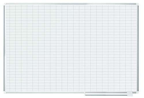 MasterVision Planning Board Magnetic Dry Erase, 1