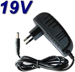 TOP CHARGEUR * Adaptador Alimentación Cargador Corriente 19V Reemplazo Recambio Pantalla Monitor TV Televisor LG 24MT47D-PZ 24MT47D-WZ 24MT47DC-PZ 24MT47DC-WZ 24MT47D-BZ
