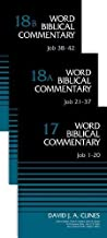 Job (3-Volume Set---17, 18A, and 18B): 17,18A-B (Word Biblical Commentary)