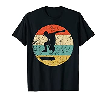 Skateboarding Shirt - Vintage Retro Skateboarder T-Shirt T-Shirt