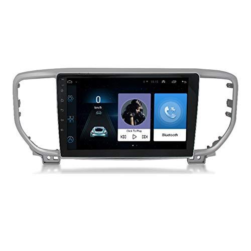 ADMLZQQ Android 9.0 Autoradio 9' Pantalla Tactil para Coche HD Radio De Coche Bluetooth SWC per Toyota Vios 2008-2012 Coche Audio FM/Mandos del Volante,4 Cores 4g+WiFi:2+32g