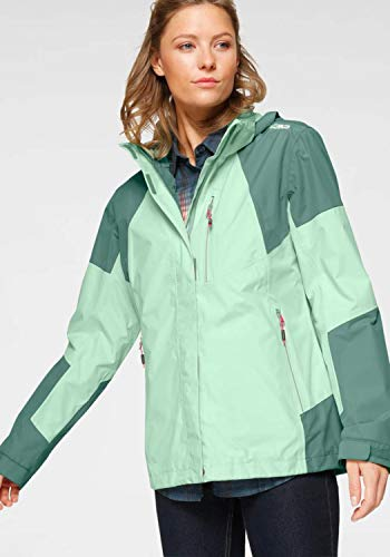 CMP Woman Jacket Zip Hood Leaf - 50