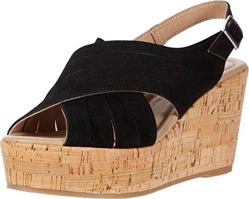 Cordani Julia Black Suede 38 (US Women's 7.5-8) M