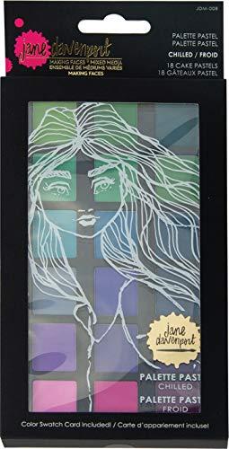 Spellbinders Jane Davenport-Palette Pastel Chilled, Mixed, 18