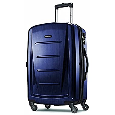 Samsonite Luggage Winfield 2 Fashion HS Spinner 24 (Navy)