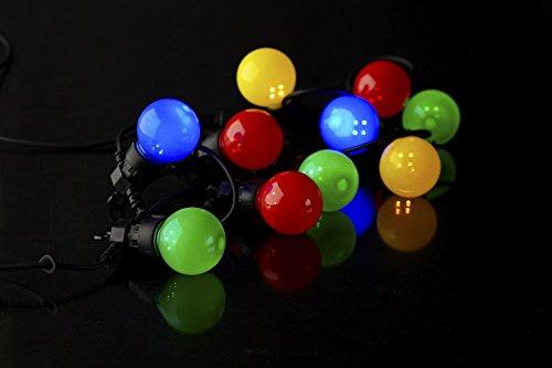 Sirius Guirlande lumineuse Oscar Complément 10 LED multicolore extérieur 3 m