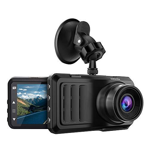 "Caferria Dash Cam 1296P FHD Dashboard Car Camera DVR Driving Recorder 3"" LCD Screen 170°Wide Angle, G-Sensor"