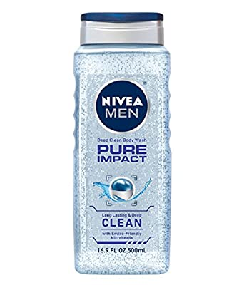 Nivea for Men Body Wash, 16.9 Ounce (Pack of 3)