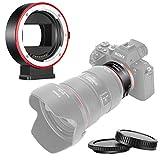 Neewer Bague d'Adaptation Autofocus Objectifs Electronique AF, Compatible avec Canon...