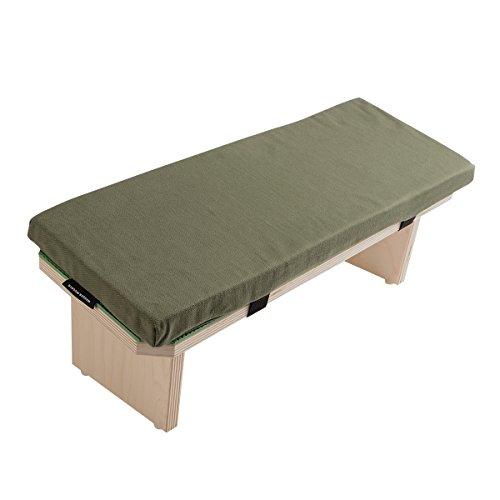 Hugger Mugger Meditation Bench (Olive)
