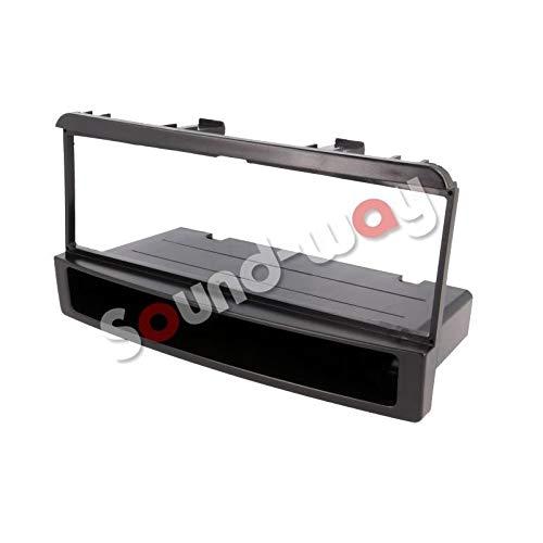 Sound-way 1 DIN Radiopaneel Frame Autoradio, ondersteuning voor Ford Focus, Fiesta, Mondeo, Escort, Transit