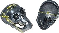 RS Vintage Parts RSV-B018FVL68U-01293 オートバイパーツ A103 ロイヤルエンフィールドチョッパー ボバー スカルヘッドライト LI ght In Eyes