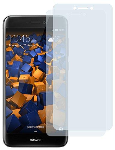 mumbi Schutzfolie kompatibel mit Huawei Honor 8 Lite Folie klar, Bildschirmschutzfolie (2X)