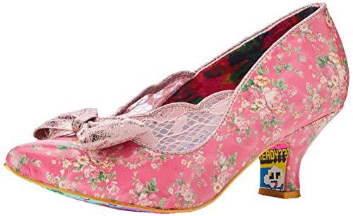 Irregular Choice Damen Marma Ladies Pumps, Pink (Pink B), 40 EU