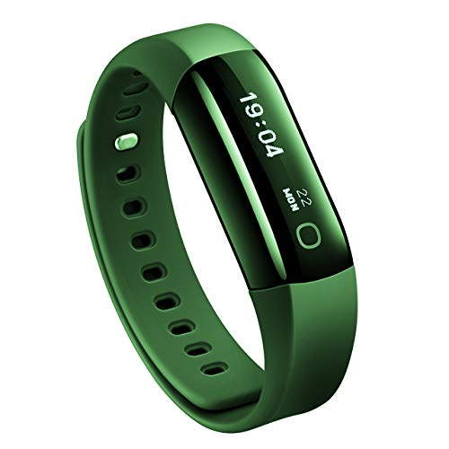 Mpow Fitness Tracker, IP68 Waterproof Fitness Tracker with Heart Rate...