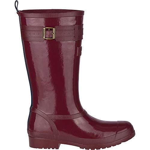 Sperry womens Walker Atlantic Rain Boot, Oxblood, 7.5 US