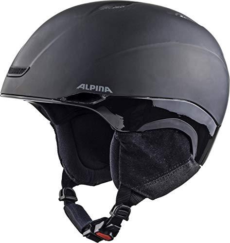 ALPINA Unisex - Erwachsene, PARSENA Skihelm, black matt, 58-61 cm