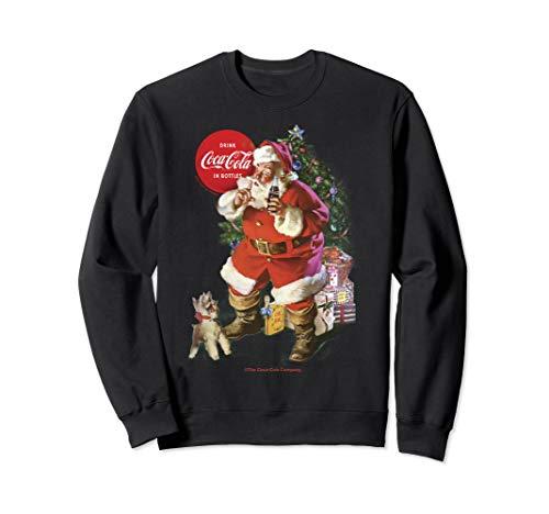 Coca-Cola Santa Claus Christmas Logo Sweatshirt