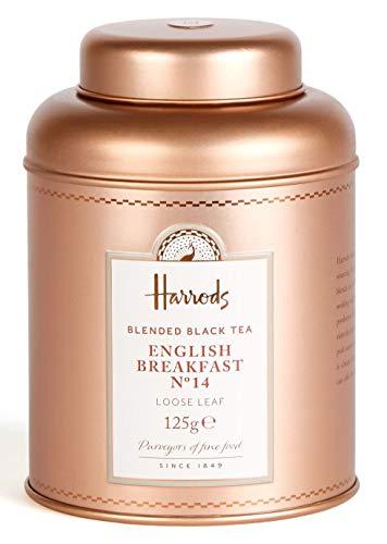 HARRODS of London - English Breakfast No. 14 - 125gr Tin / Dose (Lose blatt)