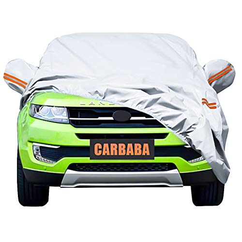 Universal Car Cover for SUV, Waterproof, Dustproof, Snowproof All Weather, Effectively Reduce...