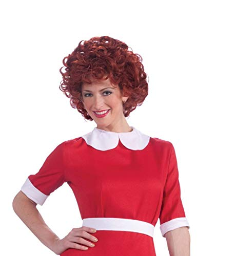 Forum Novelties Women's Orphan Annie Costume Wig, Red, One Size