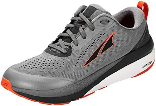 ALTRA Men's AL0A4VQO Paradigm 5 Running Shoe, Gray/Orange - 11 M US