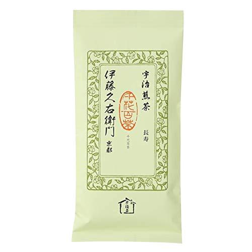 伊藤久右衛門 お茶 宇治茶 宇治煎茶・緑茶 茶葉 長寿 100g袋入り