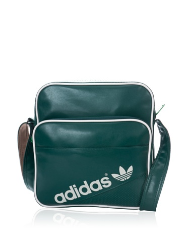 adidas Umhängetasche Sir Bag Perforated, Forest/White Vapour S11/Craft Canvas F12, 30 X 11 X 28 cm, 12 Liter, G76250