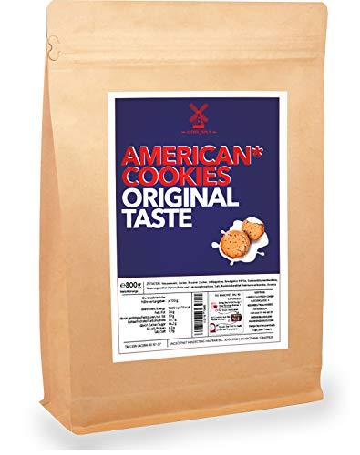 Cookies-Backmischung 800g saftig leckere Amerikanische Kekse | nur 4min Anrührzeit