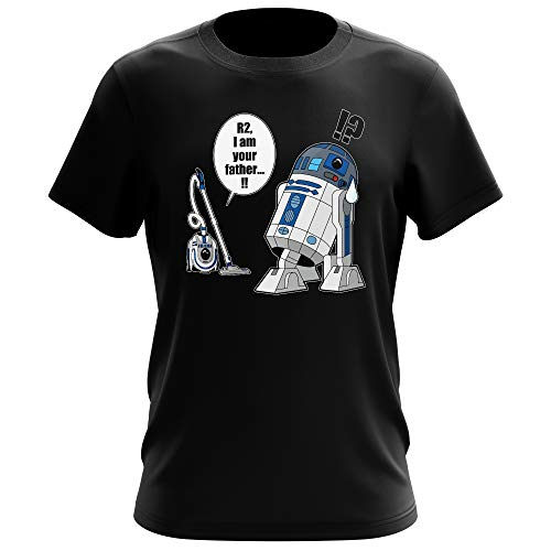 T-Shirt Geek - Parodie Star Wars - R2... Je suis...