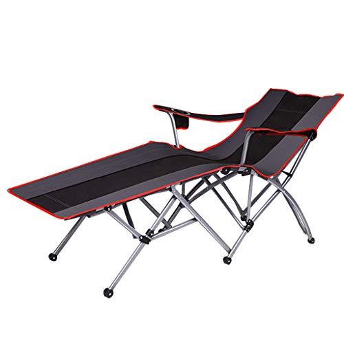 Tumbona Silla de jardín reclinable Sling Deck Silla reclinable Tumbonas de Sol Sillas de Gravedad Cero Ajustables Oxford de Tela Plegable para Patio Exterior Posición múltiple