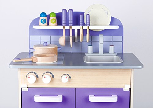 Hape Wooden Play Kitchen is a top wooden toy kitchen for kids