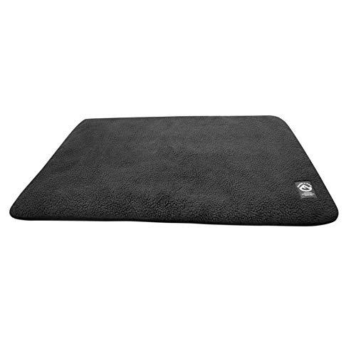 FARM-LAND Hundedecke Faserpelz 50x70 cm in 3 (schwarz)