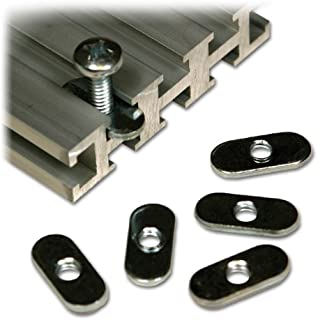 Woodhaven 5760 1/4-20 Oval Nuts
