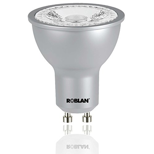 roblan proskyf60dim Ampoule GU10, 7 W, aluminium