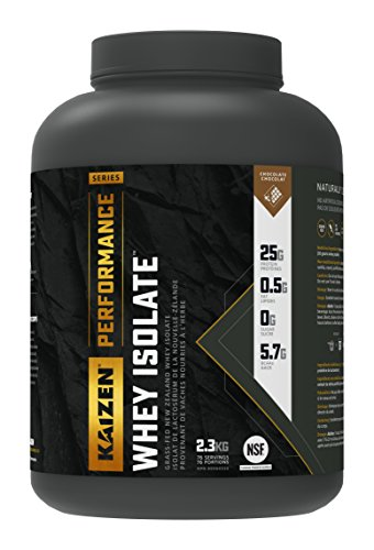 Kaizen Performance Series Whey Isolate Chocolate, 5 lbs